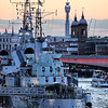 HMS Belfast and London Bridge