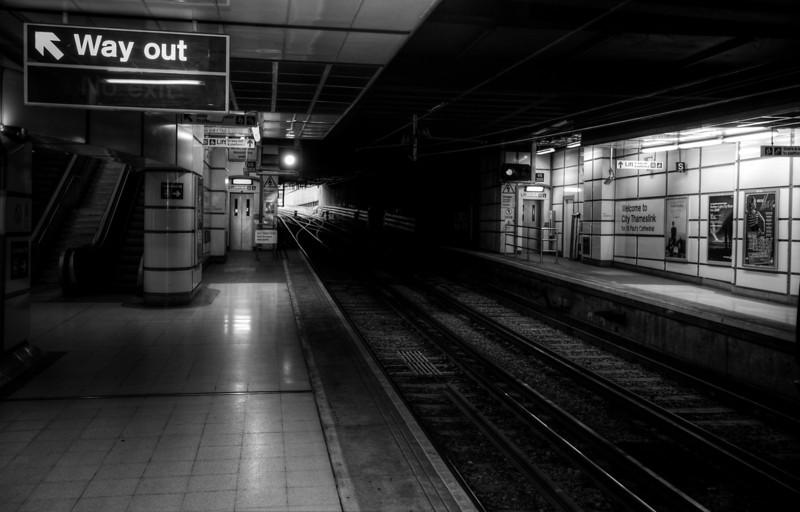 City Thameslink station London
