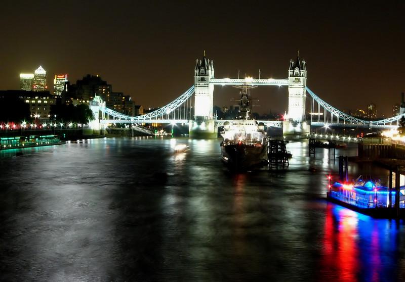 london Tower Bridge thames