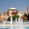 Hagia Sophia in Spring, Istanbul, Turkey