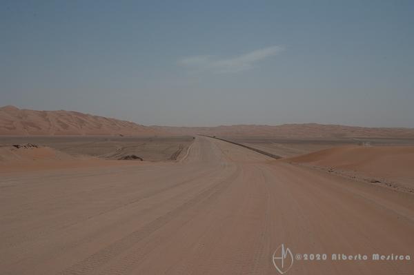 unpaved road