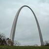 USA - St Louis - Gateway arch.