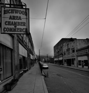 Chamber of Commerce, as hard as they try things are looking very bleak in Richwood.
