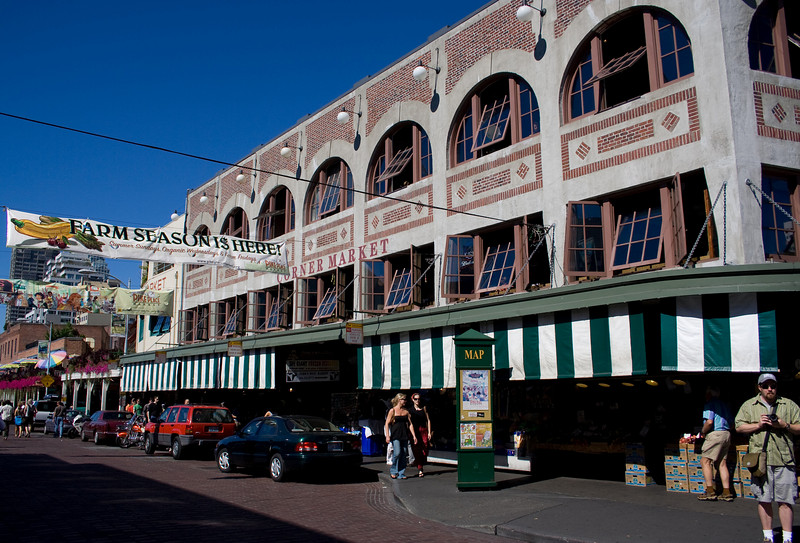 "Pike Place Market<br />  <a href=""http://www.pikeplacemarket.org/"">http://www.pikeplacemarket.org/</a>"