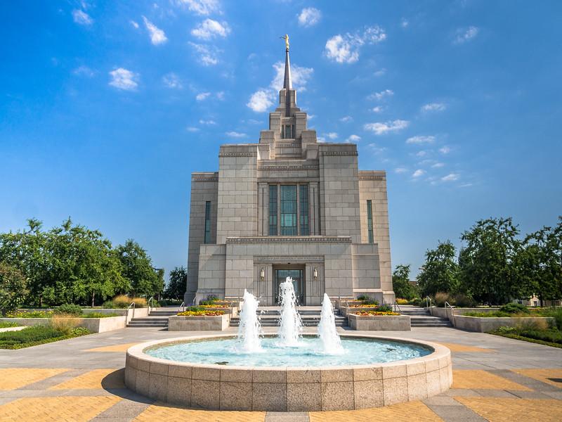 Outside the Mormon Kiev Temple, Ukraine