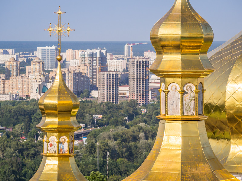 Towers and Spires, Kiev, Ukraine