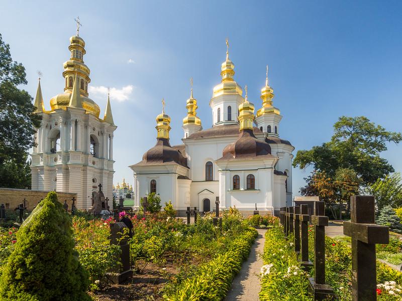 Church and Cemetery at the Pechersk Lavra, Kiev, Ukraine