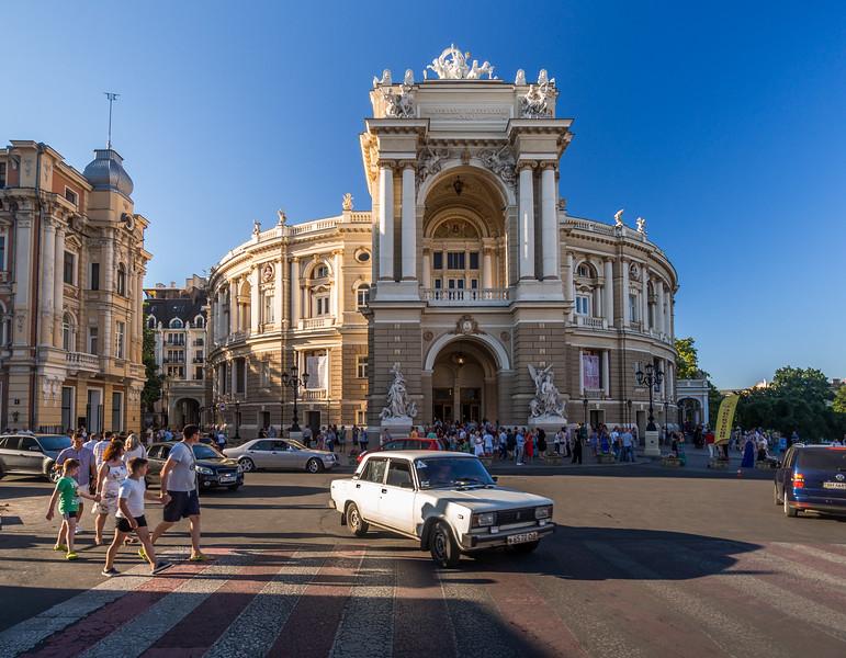At the Opera, Odessa, Ukraine