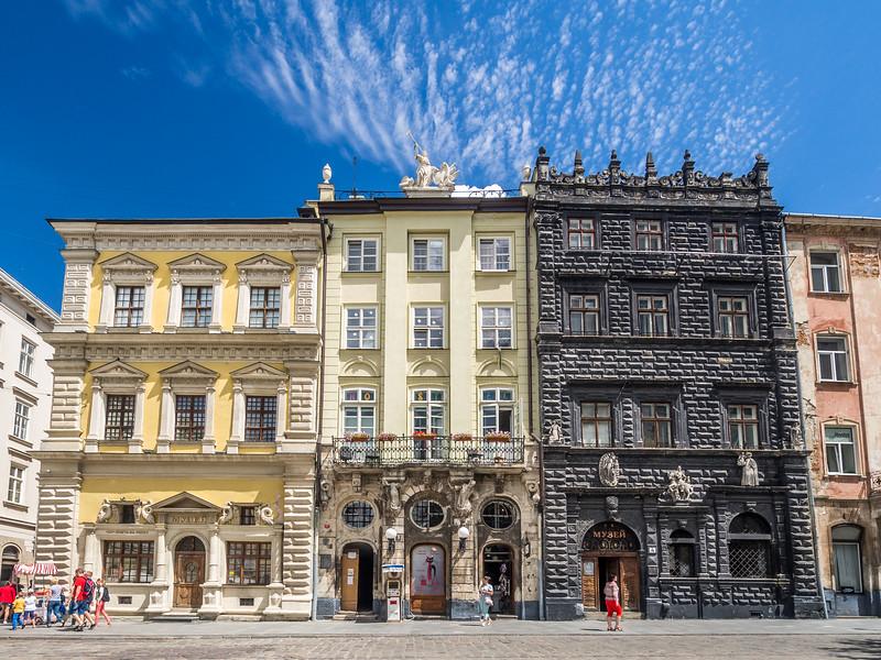 Old Merchant Houses, Lviv, Ukraine