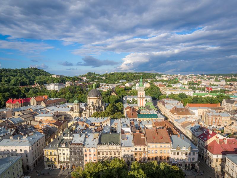 Lviv Panorama, Ukraine