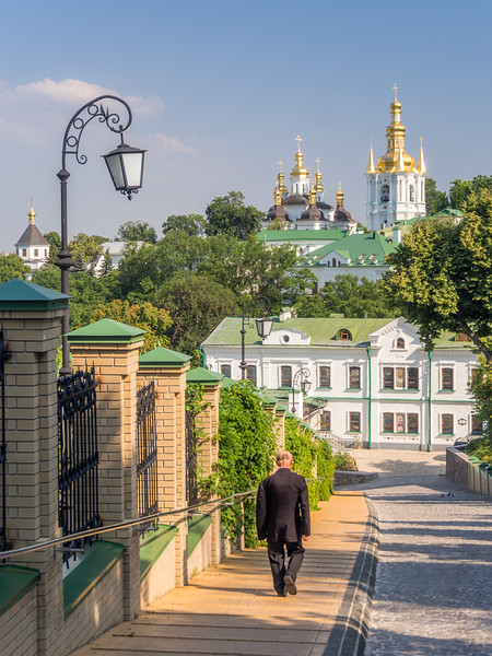 Old Man at the Monastery, Kiev