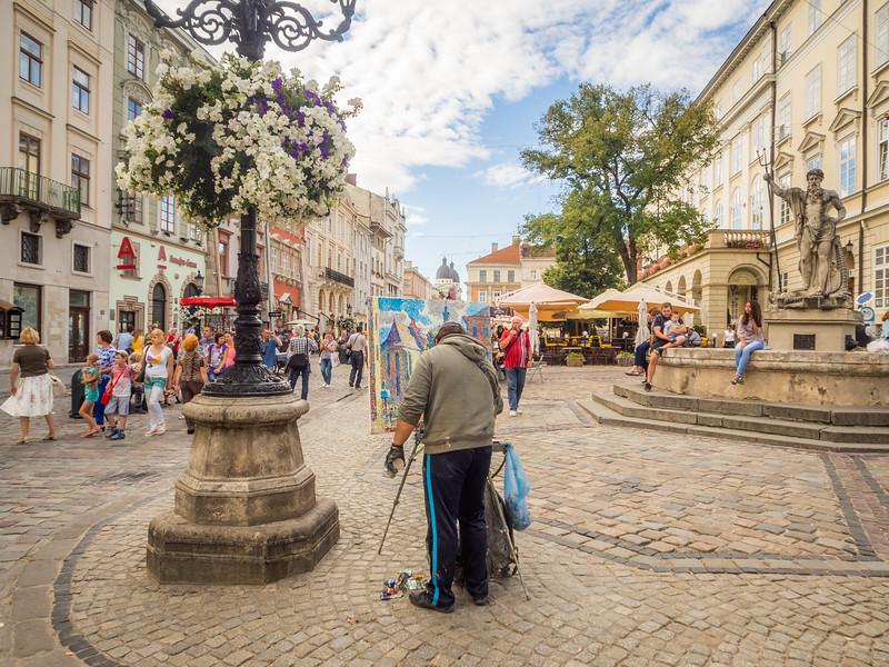 Public Painter, Lviv, Ukraine