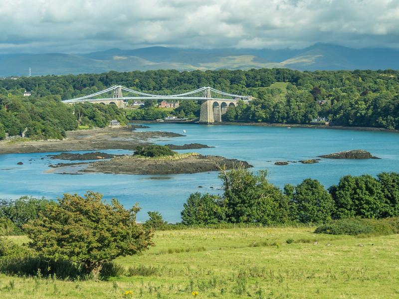 The Menai Bridge and Environs, Wales