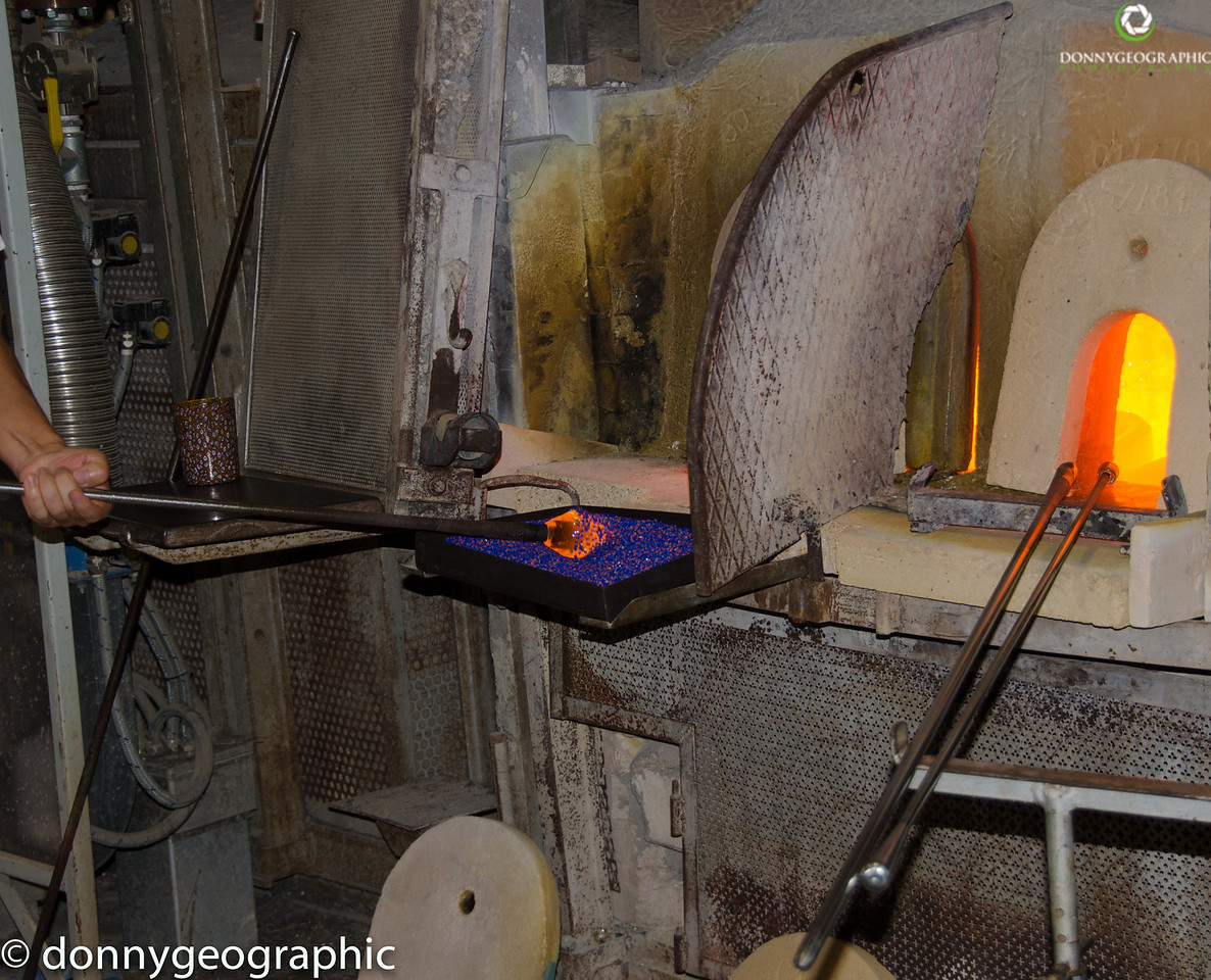 Murano Glass blowing oven
