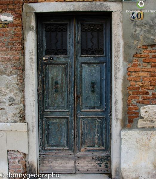 A Beautiful Venice Door