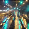 Rainy night in Chicago