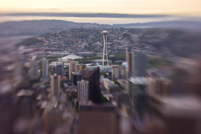 Columbia Tower - LensBaby