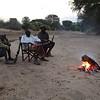Campfire, Kaloboto Camp, Tsavo East, Kenya