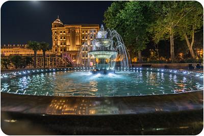 Fountain in the Governor's Garden