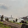 WWII Scenes Reenactment