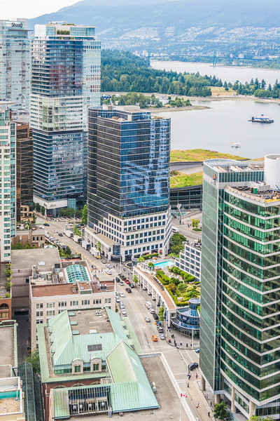 The View from the Vancouver Lookout Tower