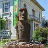 Moai Auténtico Traido de la Isla de Pascua