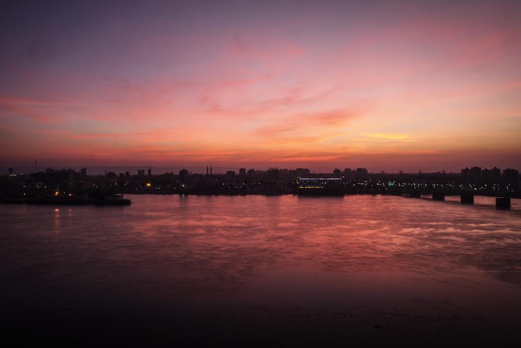 Nile view at dawn | Sohag | Upper Egypt