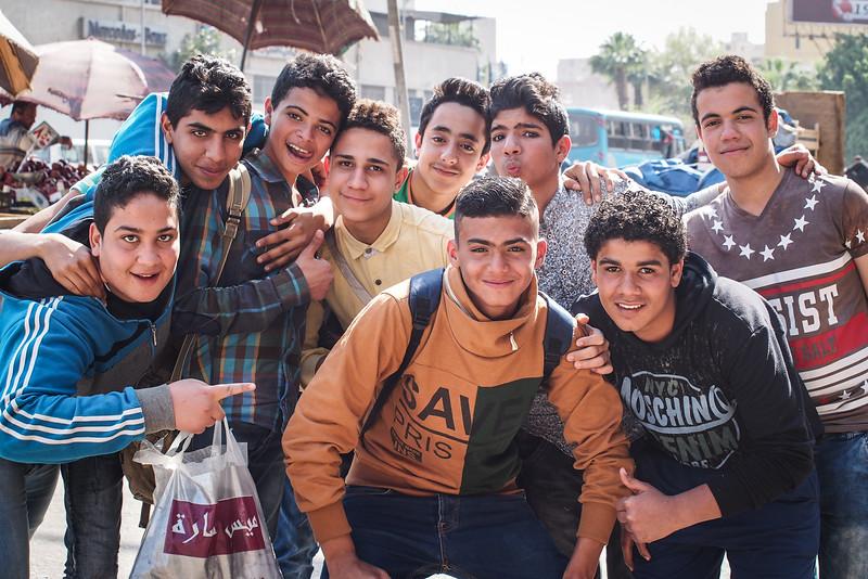 teenage boys | Cairo