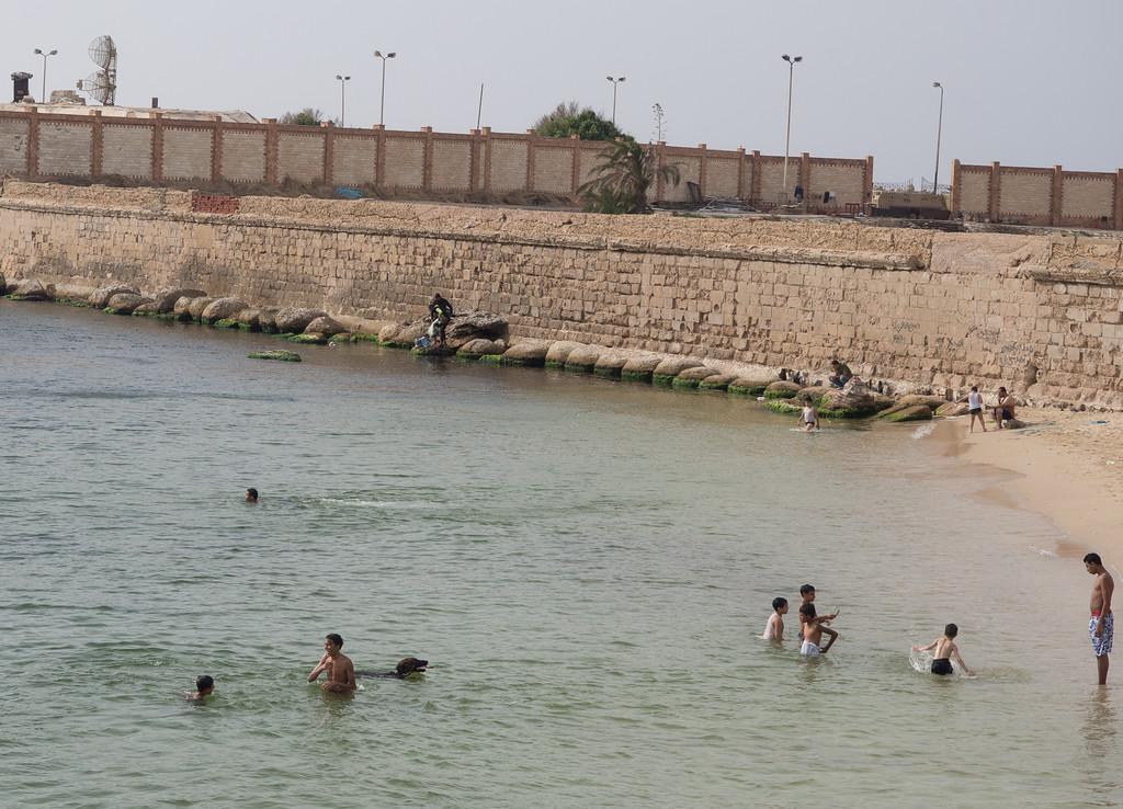 public beach | Corniche Alexandria