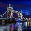 The Tower Bridge, the Thames