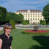 Susan @ Schönbrunn Palace gardens