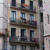 balconies, balconies, balconies on every building for a little outdoor living