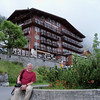 Hotel Eiger in Mürren, our home till (at least) Monday