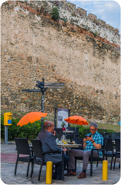 At the City Walls