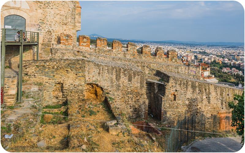 Walls of Thessaloniki