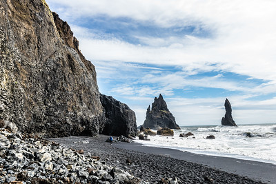 Black Sand and Rock Beaches