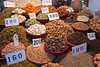All kinds of spices and dried fruit are sold in small shops in Old Delhi.<br /> March 10, 2013