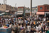 Masses of people are found on every street, this one is in Old Delhi. It seems that commerce is the main means of making a living here.<br /> March 10, 2013