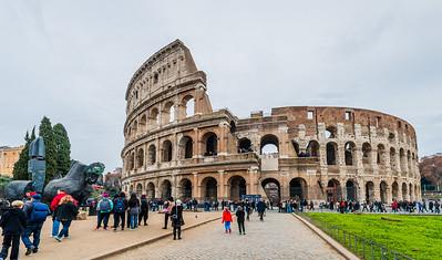 The Colosseum (70-80 AD)