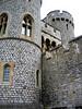 A corner of Windsor Castle, up-close. 7/31/06.