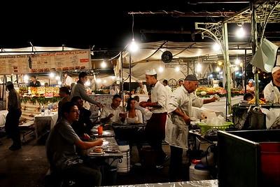 dinner | Gma el-Fna