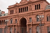 "Casa Rosada (""red house"", the Presidential Palace) has been the seat of the government since 1810. It was first painted pink in the 1870s and then named Casa Rosada.<br /> <br /> May 3, 2010"