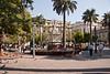 Plaza de Armas, main square in Santiago, Chile.<br /> March 11, 2012