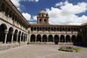 Courtyard, Koricancha, Temple of the Sun, Santo Domingo, Cusco, Peru