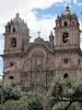 Iglesia de la Compania de Jesus, Plaza De  Armas, Cusco, Peru