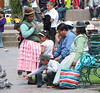 Quechua Women; , Plaza De  Armas, Cusco, Peru