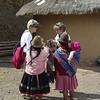 Susan and Quechua Women, Peru
