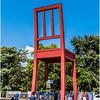 Broken Chair Monument