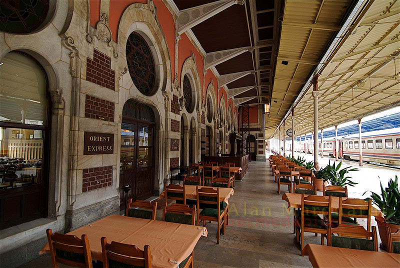 The railway station, Istanbul, Turkey.