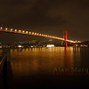 The Bosphorus bridge. Istanbul, Turkey.